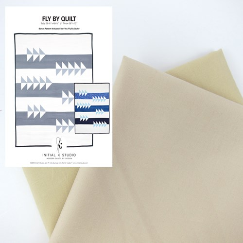 Fly By Quilt Kit in Neutral - Initial K Studio