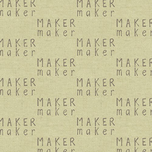 Mini Maker Maker in Light CANVAS