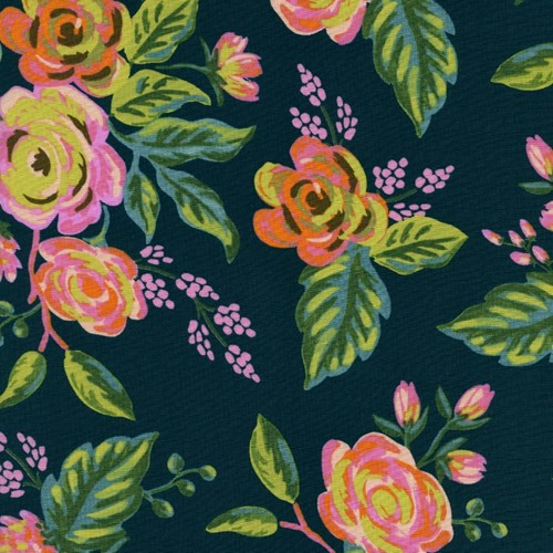 Jardin de Paris in Navy RAYON