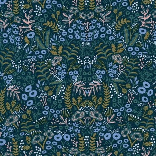 Tapestry in Navy RAYON