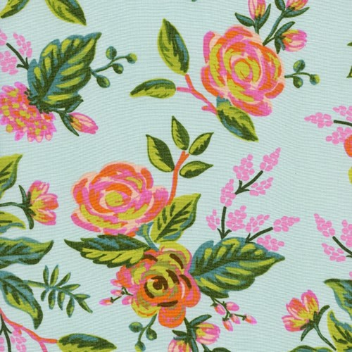 Jardin de Paris in Mint RAYON