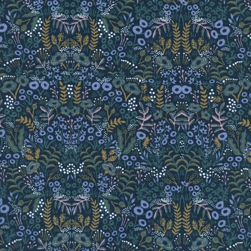 Tapestry in Navy