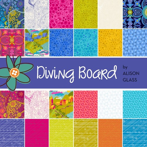 Diving Board Fat Quarter Bundle