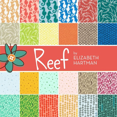 Reef Layer Cake by Elizabeth Hartman