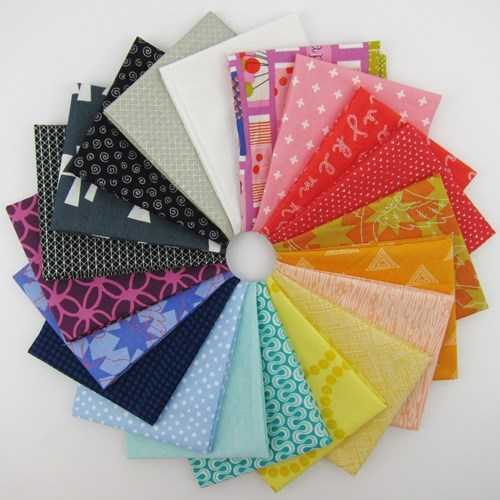 Stash Builder Rainbow Fat Quarter Bundle