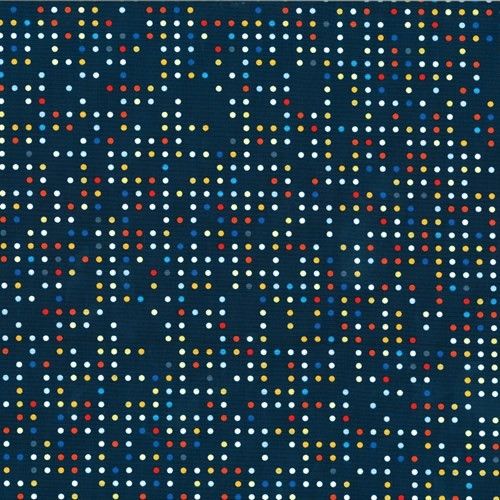 Candy Dots in Indigo
