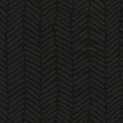 Chevron Brush Essex in Black
