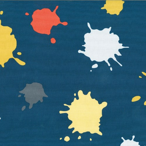 Ice Cream Splat in Navy