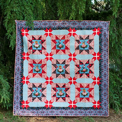 Holidays With Our Homies Quilt Top Kit by Tula Pink
