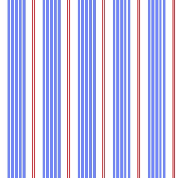 Racer Stripes in Sailor