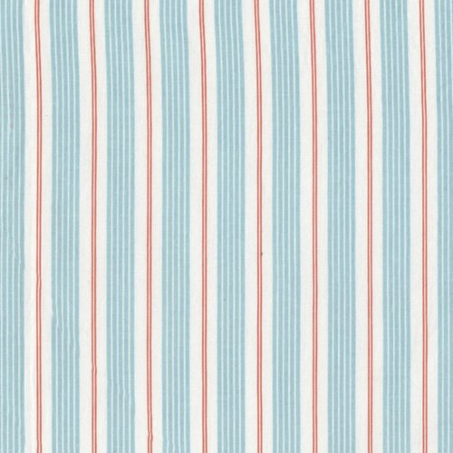 Racer Stripes in Aqua