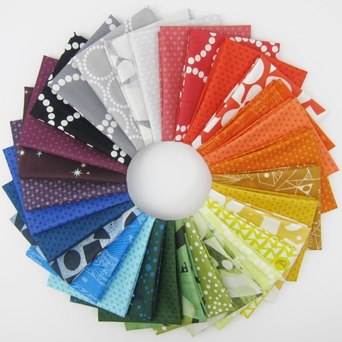 Lizzy House Rainbow Fat Quarter Bundle