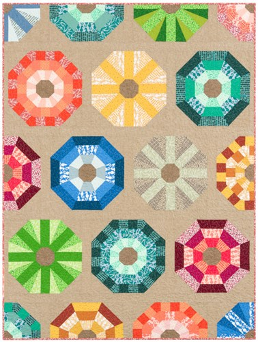 Sea Urchin Quilt Kit by Elizabeth Hartman