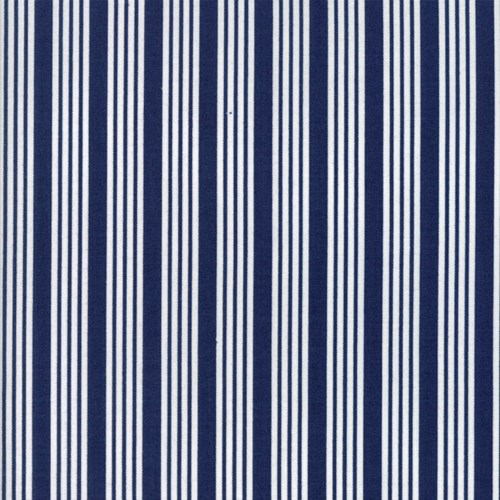 Striped in Navy