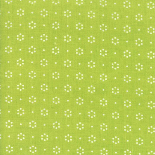 Garden of Dots in Green