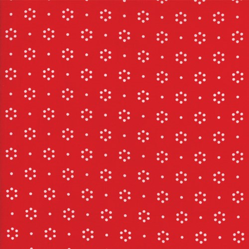 Garden of Dots in Red