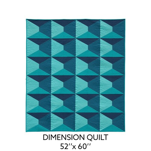 Dimension Quilt Pattern by Nydia Kehnle