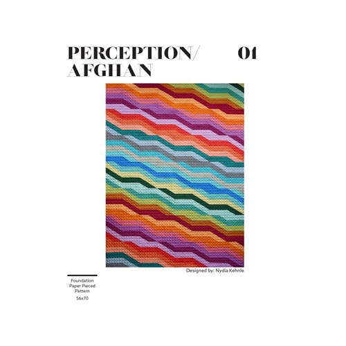 Perception Quilt Pattern by Nydia Kehnle