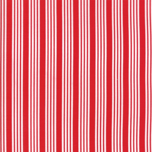 Striped in Red
