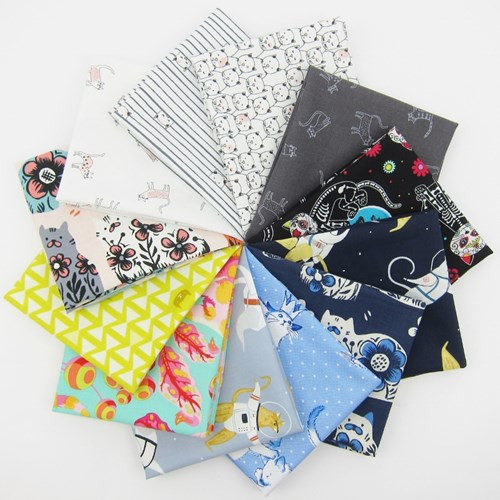 Crazy Cat Lady Fat Quarter Bundle
