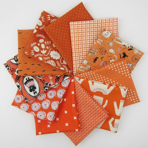 Cotton + Steel Orange Remix Fat Quarter Bundle