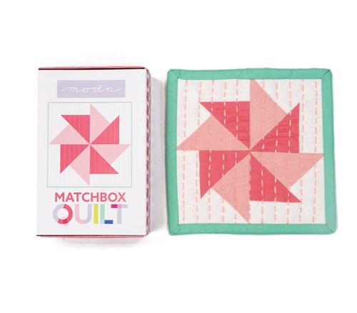 Matchbox Quilt Kit in Coral
