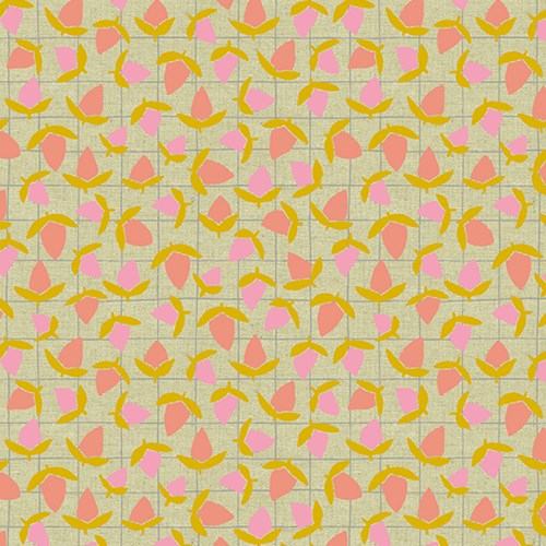 Flower Buds in Sherbert CANVAS