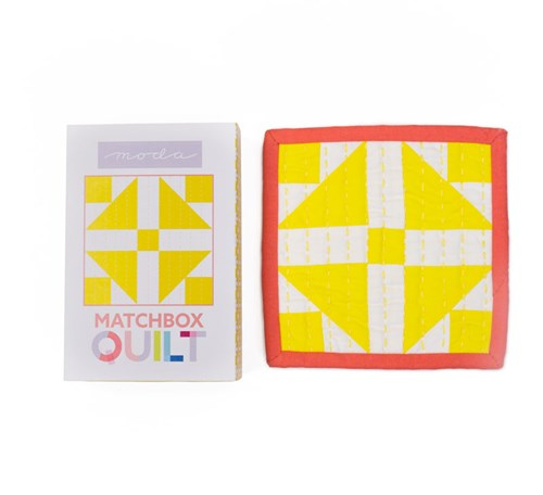 Matchbox Quilt Kit in Yellow