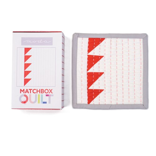 Matchbox Quilt Kit in Red