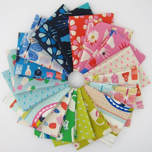 Beauty Shop COTTON Fat Quarter Bundle by Cotton + Steel
