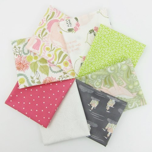 Dear Stella Fable with Coordinating Basics Fat Quarter Bundle