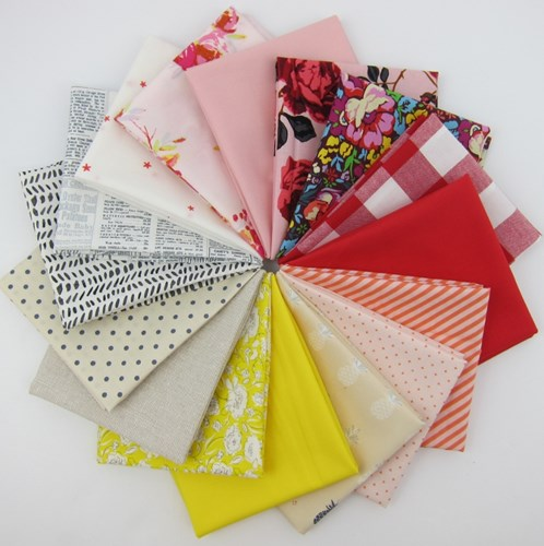 Design Star August 2017 Fat Quarter Bundle Curated by Rita Hodge