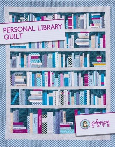 Personal Library Quilt by Heather Givans of Crimson Tate