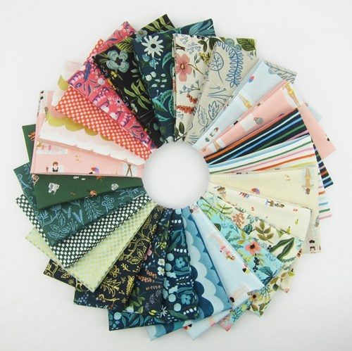 Amalfi COMPLETE Fat Quarter Bundle by Rifle Paper Co. for Cotton + Steel