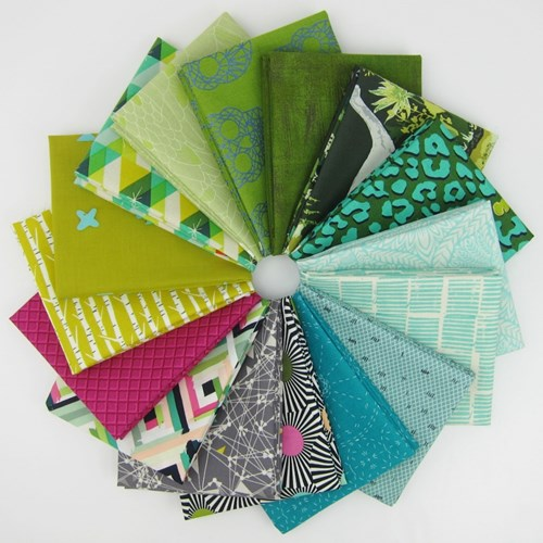 Design Star Fat Quarter Bundle Curated by Kris Farnsworth