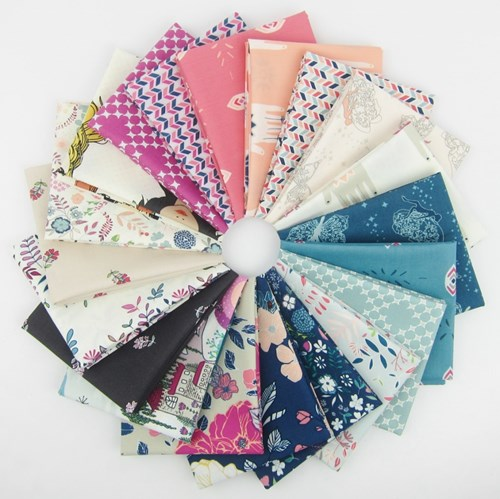 Flower Child Fat Quarter Bundle by Maureen Cracknell