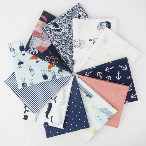 Dark and Stormy Fat Quarter Bundle by Dear Stella