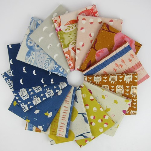 Firelight Fat Quarter Bundle by Cotton and Steel