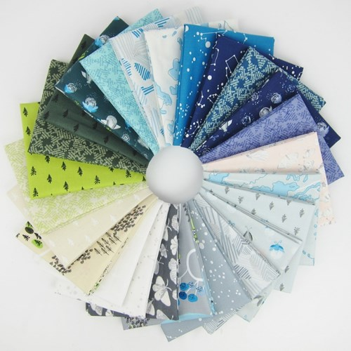Night Hike Fat Quarter Bundle by Heather Givans