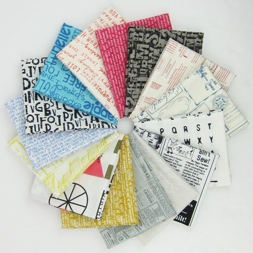 Text Me Maybe Fat Quarter Bundle