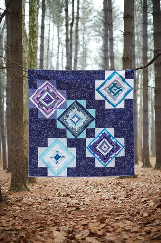Wishing Star Quilt Kit Featuring Night Hike by Heather Givans