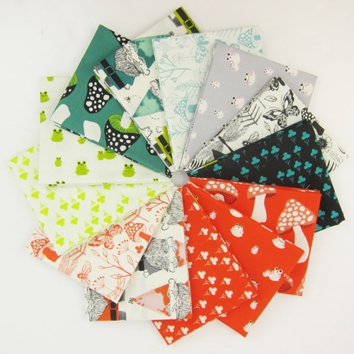 Front Yard Fat Quarter Bundle by Sarah Watts
