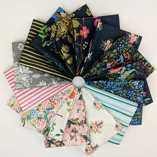 English Garden COTTON Fat Quarter Bundle by Rifle Paper Co.