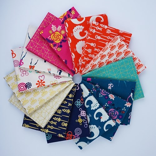 Akoma Fat Quarter Bundle by Rashida Coleman-Hale