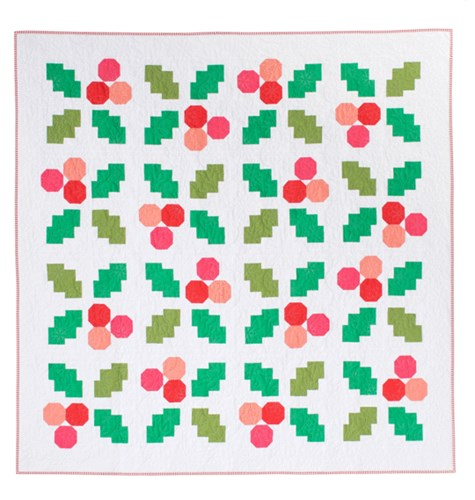 Holly Jolly Quilt Kit by Then Came June