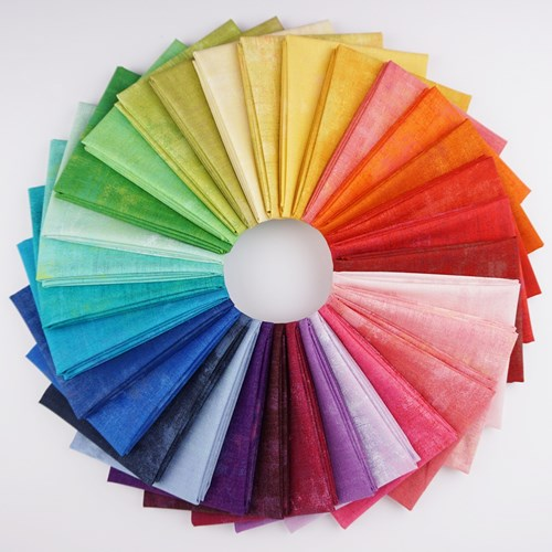 Grunge Rainbow Fat Quarter Bundle