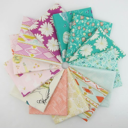 Anna Elise Fat Quarter Bundle by Bari J.