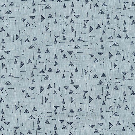 Arrowheads in Chambray