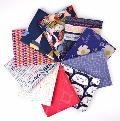 Art District Fusion Fat Quarter Bundle