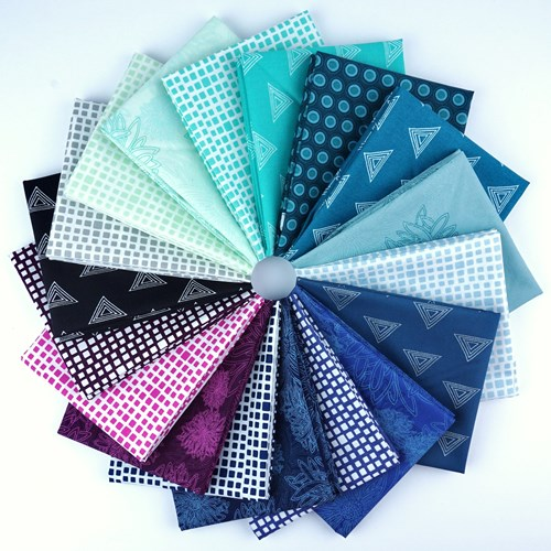 Art Gallery Elements Fat Quarter Bundle in Cool